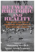 Between Rhetoric and Reality Cover