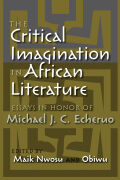 Critical Imagination in African Literature, The Cover