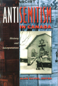 Antisemitism in Canada Cover
