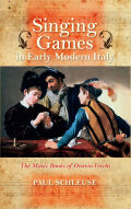 Singing Games in Early Modern Italy Cover