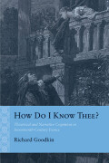 How Do I Know Thee? Cover