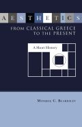 Aesthetics from Classical Greece to the Present Cover