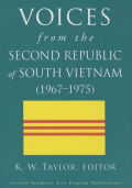 Voices from the Second Republic of South Vietnam (1967-1975) Cover
