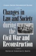 Changes in Law and Society during the Civil War Reconstruction Cover