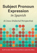 Subject Pronoun Expression in Spanish Cover