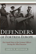 Defenders of Fortress Europe Cover
