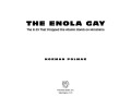 The Enola Gay Cover