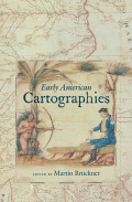 Early American Cartographies Cover