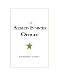 The Armed Forces Officer Cover