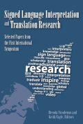 Signed Language Interpretation and Translation Research Cover