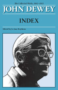 The Collected Works of John Dewey, Index Cover