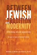 Between Jewish Tradition and Modernity Cover