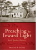 Preaching the Inward Light Cover