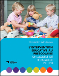 L'intervention éducative au préscolaire Cover