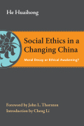 Social Ethics in a Changing China Cover