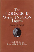 Booker T. Washington Papers Volume 10 Cover
