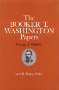 Booker T. Washington Papers Volume 2 Cover