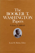Booker T. Washington Papers Volume 3 Cover