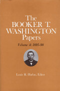 Booker T. Washington Papers Volume 4 Cover