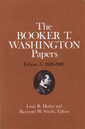 Booker T. Washington Papers Volume 5 Cover