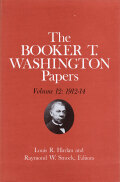Booker T. Washington Papers Volume 12 Cover