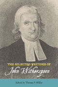 The Selected Writings of John Witherspoon Cover