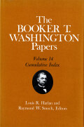 The Booker T. Washington Papers, Vol. 14 Cover