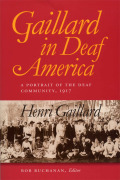 Gaillard in Deaf America Cover
