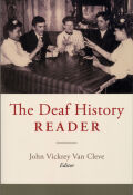 The Deaf History Reader Cover