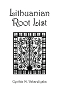A Lithuanian Root List Cover