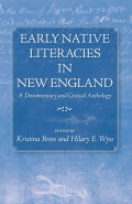 Early Native Literacies in New England Cover
