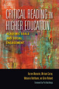 Critical Reading in Higher Education Cover