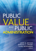 Public Value and Public Administration Cover