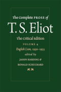 The Complete Prose of T. S. Eliot: The Critical Edition: English Lion, 1930–1933