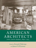 American Architects and Their Books, 1840-1915 Cover