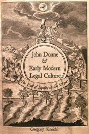 John Donne and Early Modern Legal Culture