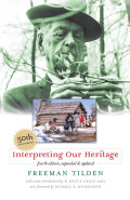 Interpreting Our Heritage Cover