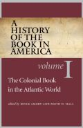 A History of the Book in America Cover