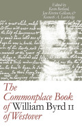The Commonplace Book of William Byrd II of Westover Cover