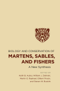 Biology and Conservation of Martens, Sables, and Fishers: A New Synthesis