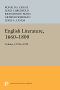 English Literature, Volume 1