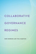 Collaborative Governance Regimes Cover