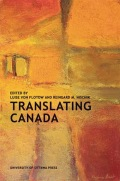 Translating Canada Cover