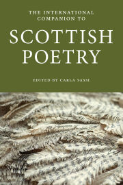International Companion to Scottish Poetry