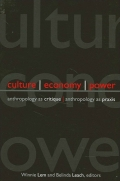 Culture, Economy, Power Cover