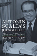 Antonin Scalia's Jurisprudence Cover