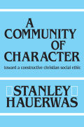 A Community of Character Cover