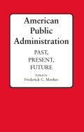 American Public Administration Cover