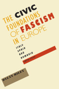 The Civic Foundations of Fascism in Europe Cover