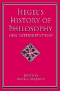 Hegel's History of Philosophy Cover
